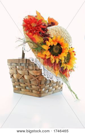 Basket And Hat 2