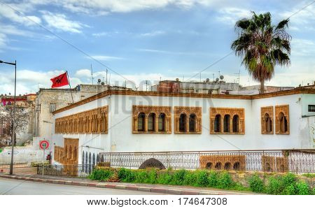 Buildings in the old town of Rabat, the capital of Morocco