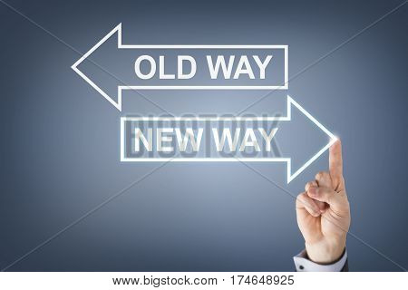 Old Way or New Way on Visual Screen