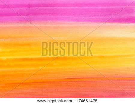Bright watercolor background for design, hand draw