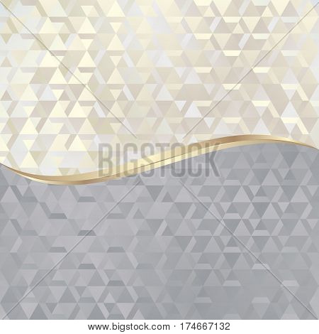 abstract background with triangles texture - vector illustration