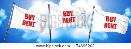 buy rent, 3D rendering, triple flags