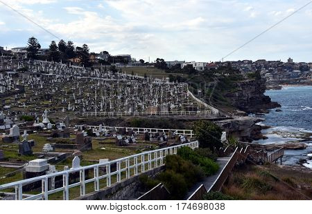 Waverley Cemetery is a state heritage listed cemetery in an iconic location in Sydney. It is noted for its largely intact Victorian and Edwardian monuments.