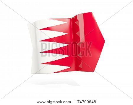 Arrow With Flag Of Bahrain