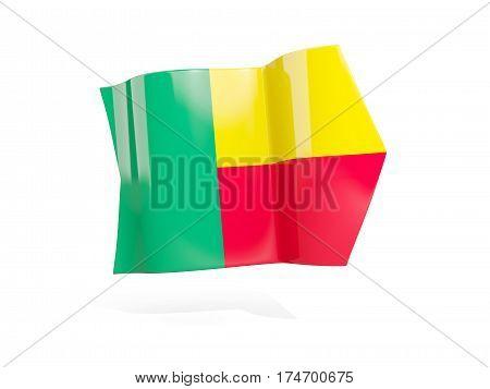 Arrow With Flag Of Benin
