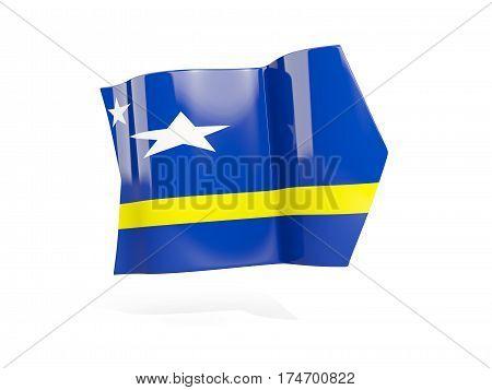 Arrow With Flag Of Curacao