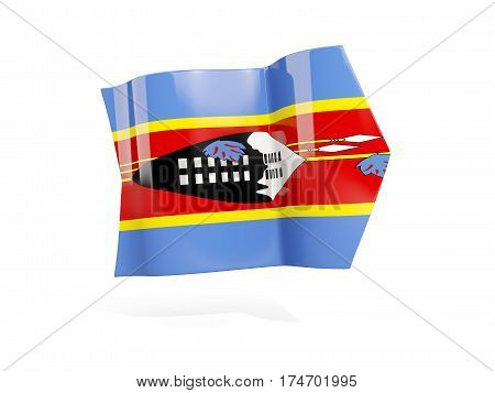 Arrow With Flag Of Swaziland