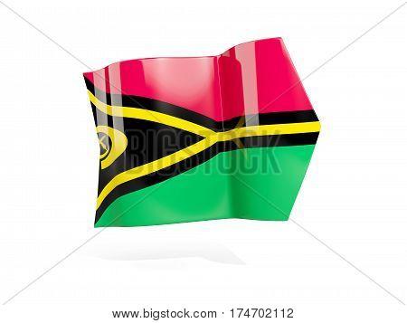 Arrow With Flag Of Vanuatu