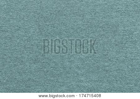 background and texture of pale indigo color of soft knitted fabric in big resolution