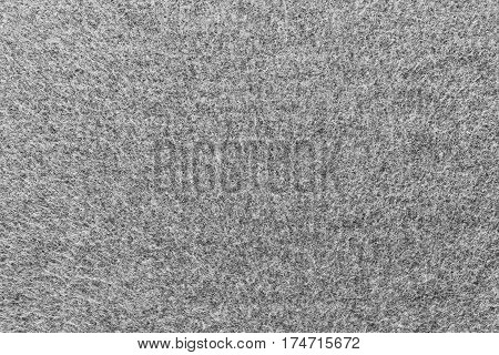 background and texture of white gray color of fleece fabric in big resolution
