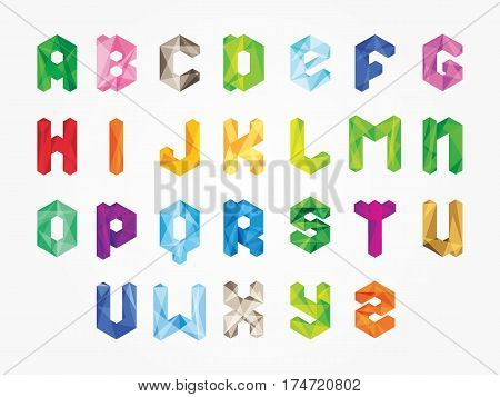 Vector abstract alphabet .Alphabet needled seams.Vector alphabet with seam.Alphabet isolated.Vector Alphabet flat style.Vector color Alphabet.Vector font isolated .Vector Type.Hand drawnshadow