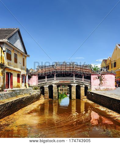 View Of The Japanese Covered Bridge, Hoi An (hoian), Vietnam