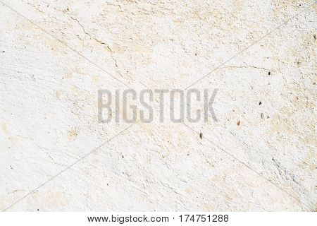 Blank White painted rough structured wall for background or texture