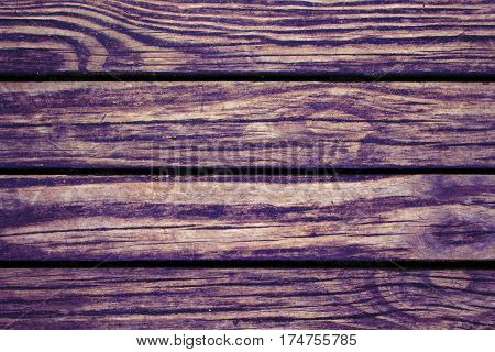 Maroon red wood planks closeup. Rough lumber surface. Warm wooden background for vintage card. Old timber texture closeup. Wooden board wallpaper or backdrop photo. Natural material banner template