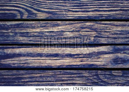 Dark wood planks closeup. Rough lumber surface. Warm brown wooden background for vintage card. Timber texture closeup. Wooden board wallpaper or backdrop photo. Natural material banner template