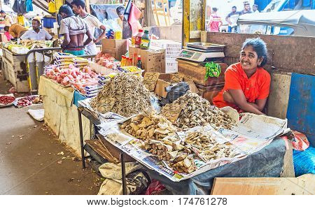 The Heaps Of Dried Fish