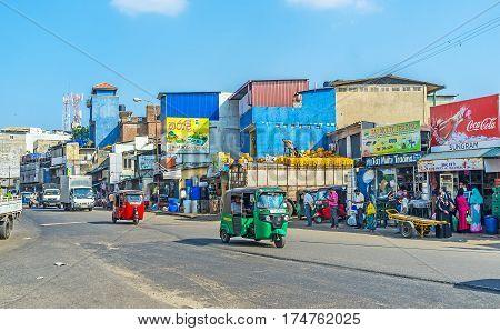 The Market In Mohamed Zain Street