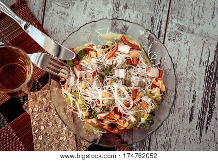 Salad Chinese Glass Rice Noodles