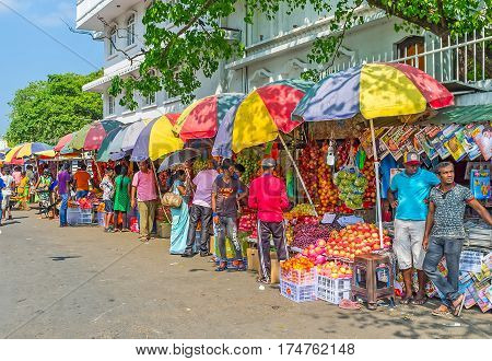 Street Fruit Market