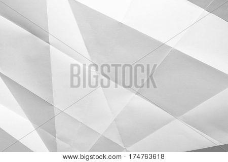 White Folded Paper
