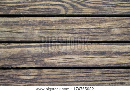 Rustic wood planks closeup. Rough lumber surface. Warm brown wooden background for vintage card. Timber texture closeup. Wooden board wallpaper or backdrop photo. Natural material banner template