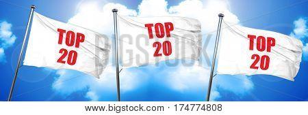 top 20, 3D rendering, triple flags
