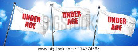 underage, 3D rendering, triple flags