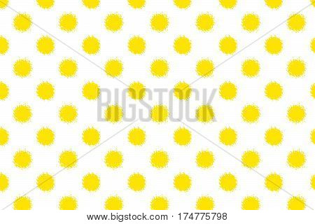 Abstract Simple Yellow Background.