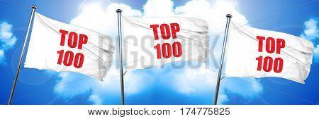 top 100, 3D rendering, triple flags
