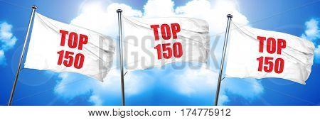 top 150, 3D rendering, triple flags
