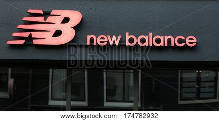 New Balance On A Store In Amsterdam