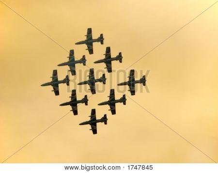 Plane Exhibiton