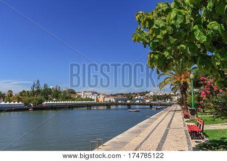 Panoramic views of Tavira in the Algarve