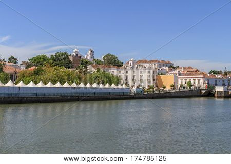 Panoramic views of Tavira in the Algarve