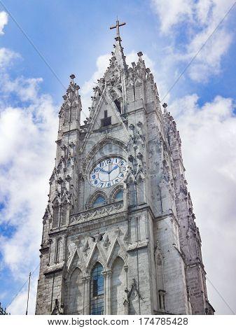 San Juan Basilica Quito Ecuador