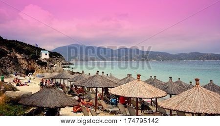 Resting place for Black Sea Wonderful scenery, clean and comfortable beach
