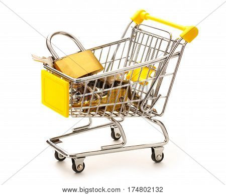 Market Pushcart With Keys And Lock