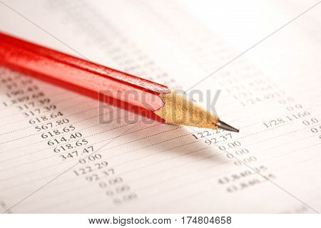 Operating Budget And Pencil