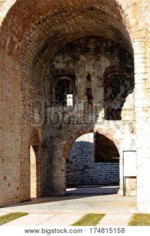 Asiago Vi Italy Ancient Fort Of World War I Called Forte Interro
