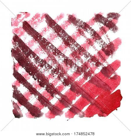 Doodle square with oblique strokes. Abstract background. Space for your own text. Raster illustration