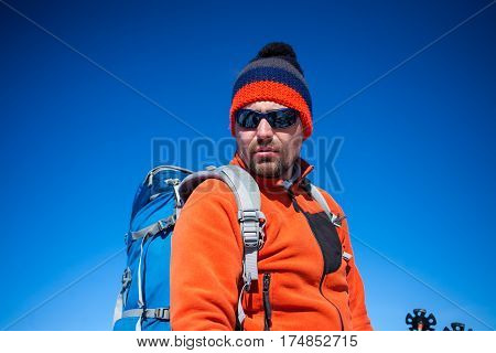 Portrait Of A Climber.