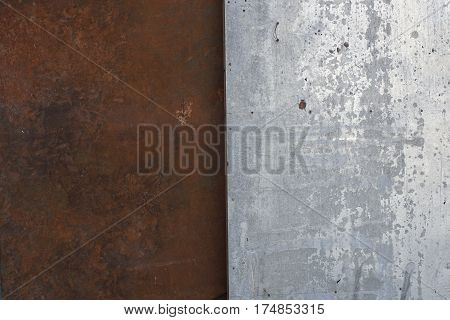 Old Rasty, Metal Surface