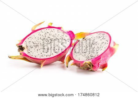 Pitahaya (The draconian piece of fruit) for dessert