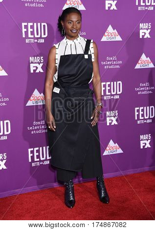 LOS ANGELES - MAR 01:  Adina Porter arrives for the