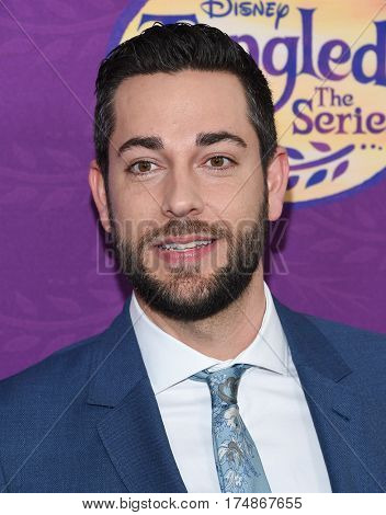 LOS ANGELES - MAR 04:  Zachary Levi arrives for the
