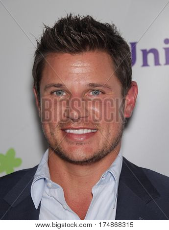 LOS ANGELES - AUG 02:  Nick Lachey arrives for the Summer 2011 TCA Party-NBC on August 1, 2011 in Beverly Hills, CA
