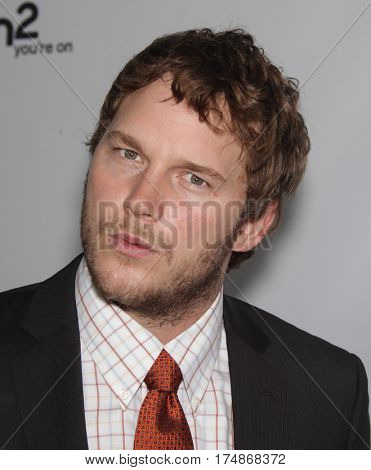LOS ANGELES - AUG 02:  Chris Pratt arrives for the Summer 2011 TCA Party-NBC on August 1, 2011 in Beverly Hills, CA