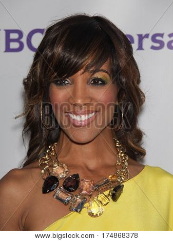 LOS ANGELES - AUG 02:  Shaun Robinson arrives for the Summer 2011 TCA Party-NBC on August 1, 2011 in Beverly Hills, CA