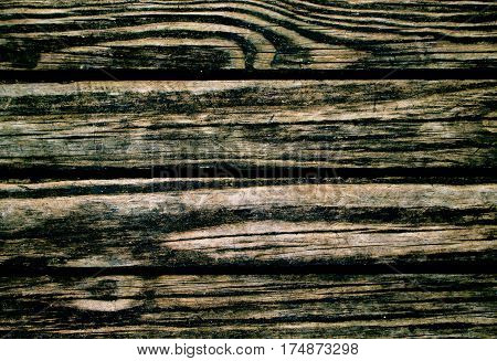 Wood texture. Rustic wood planks closeup. Rough lumber surface. Warm brown wooden background for vintage card. Wooden board wallpaper or backdrop photo. Natural material banner template