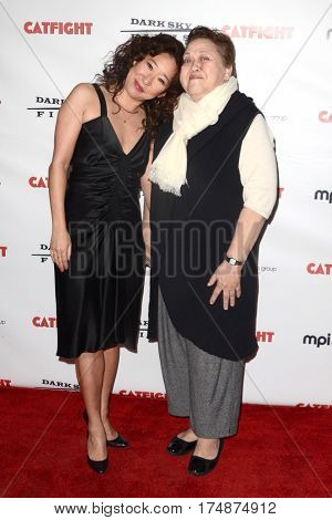 LOS ANGELES - MAR 2:  Sandra Oh, Amy Hill at the